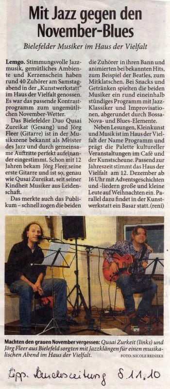 1 Lippische Landeszeitung nov 2010 zureikatfleer