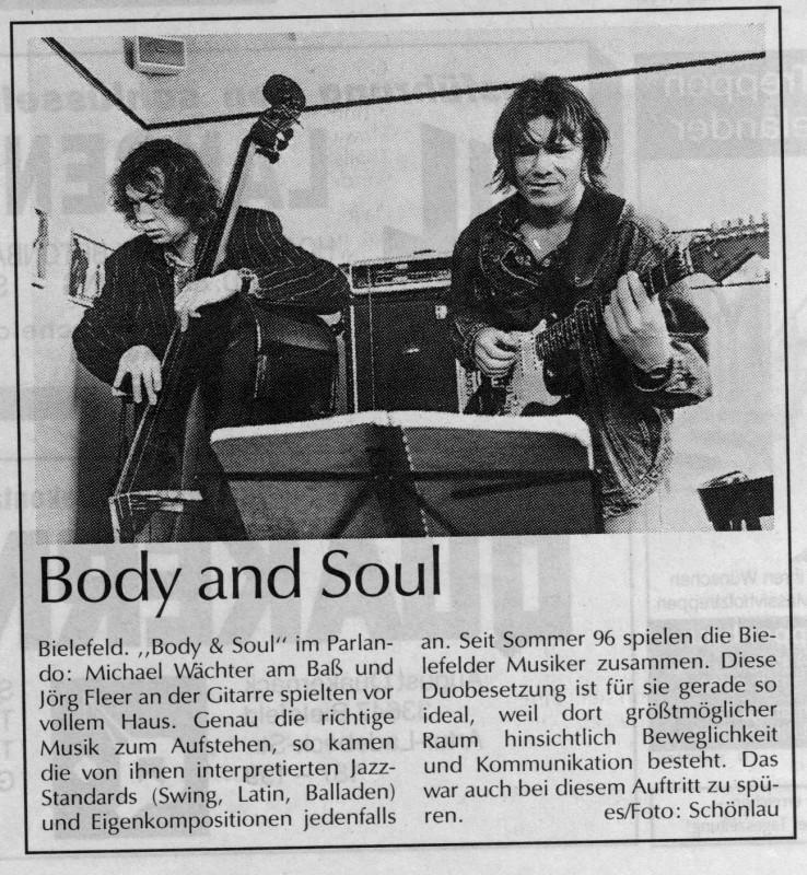 neue westfälische april 97 zu body und soul